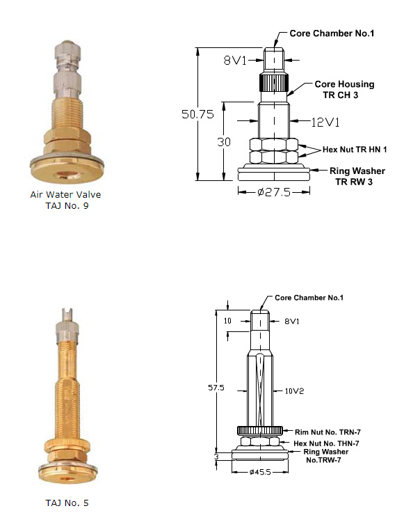 All Metal Clamp-In Valves